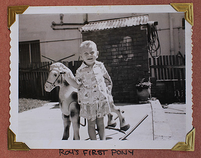 Roy's First Pony